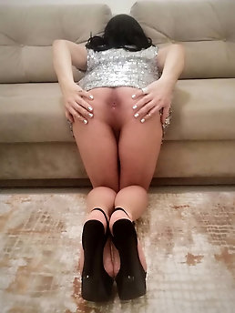 Shemale mistress gets ready for anything